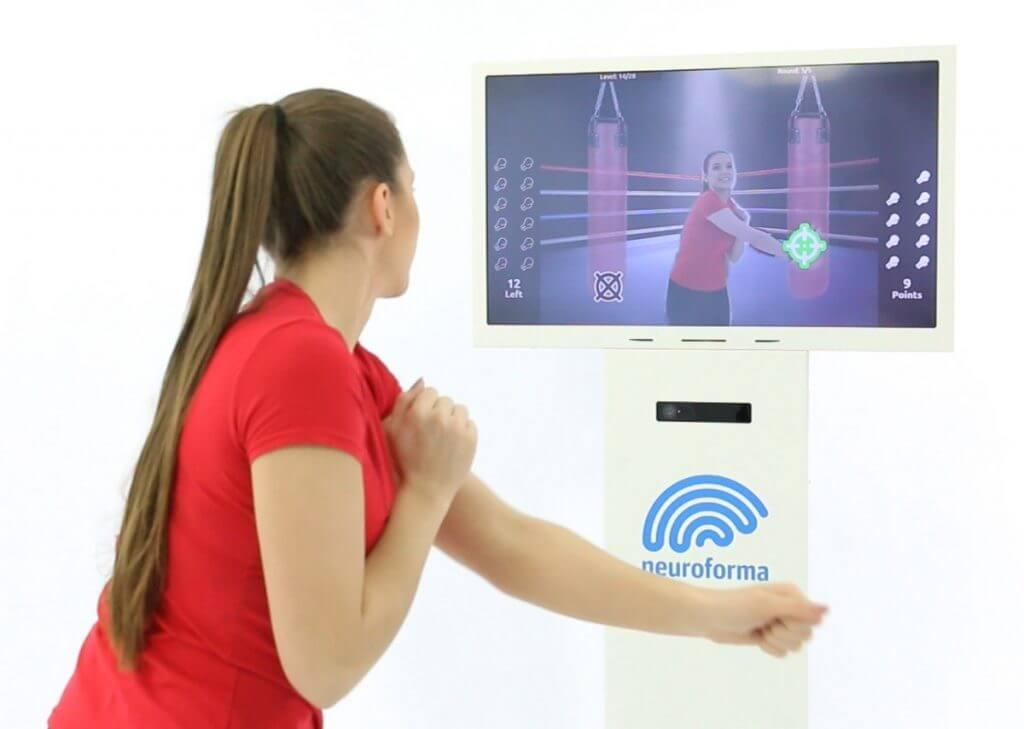 Neuroforma PRO Station - für interaktive motorische und kognitive Übungen in der Einrichtung