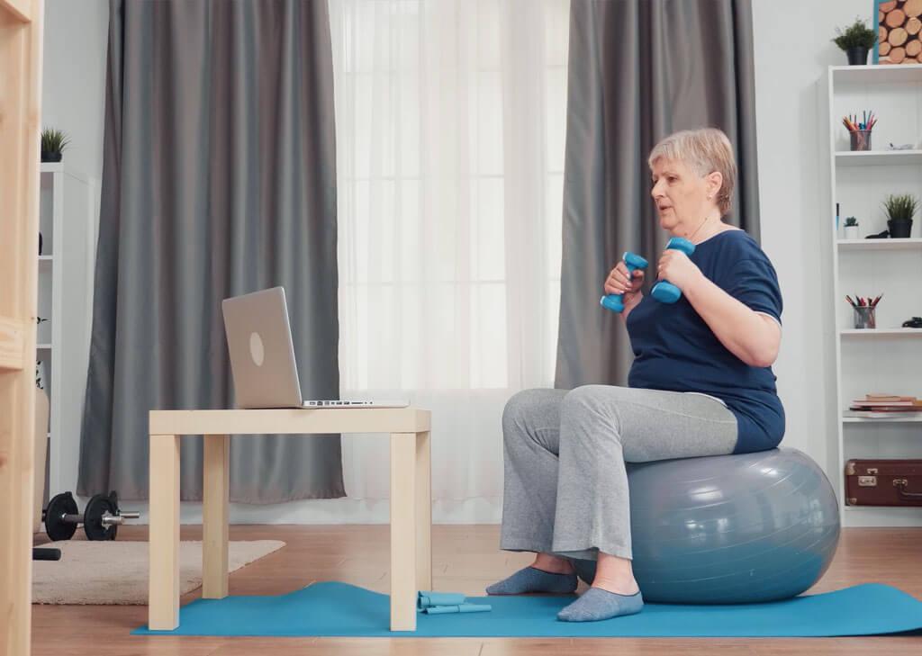 Sehen Sie, wie Neuroforma funktioniert - ein Programm zur Rehabilitation zu Hause